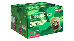 Art Life Commander paintballs 2000pc - OFF SEASON