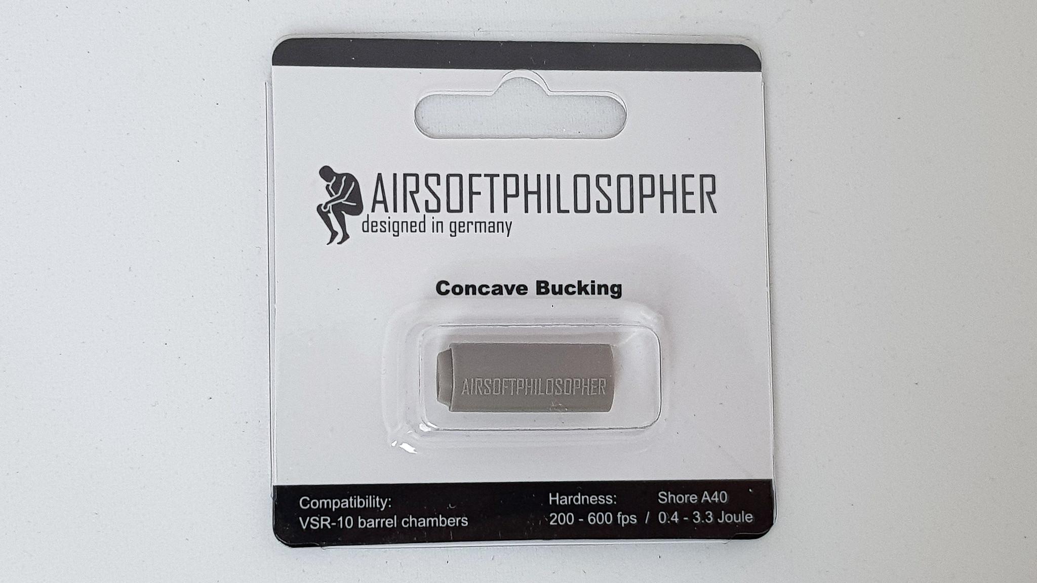 Airsoftphilosopher Concave AEG Kumi 60º (Harmaa) Gen2