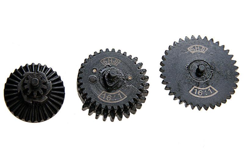 SHS Gear Set for V2 & V3 Gearbox (16:1)