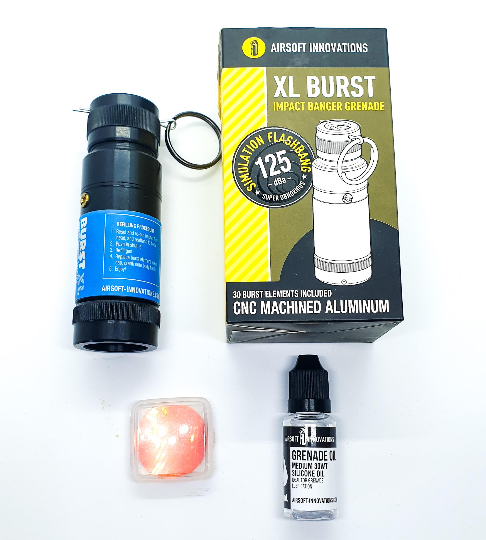 XL Burst Kranaatti + Kaasu - KÄYTETTY