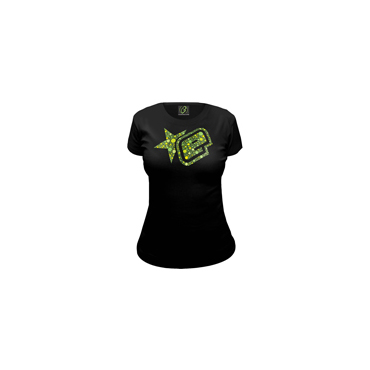 Eclipse Womens Candy T-shirt Black M