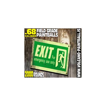 Exit paintballs 2000pcs