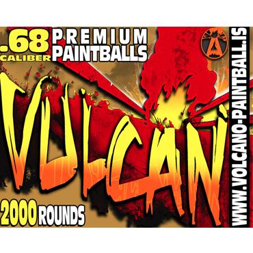 Vulcan paintballs 2000pcs - 2-laatu