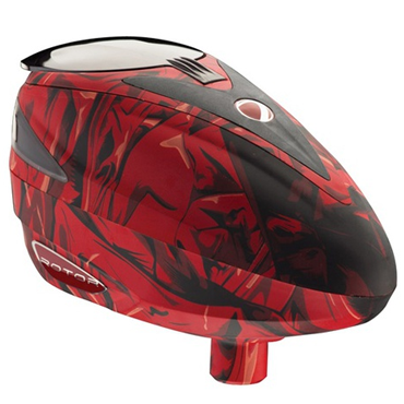 Dye Rotor Loader Red Cloth