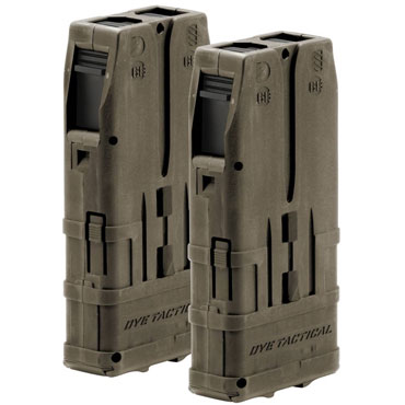 DYE DAM Mag 10 Round - 2 pack Dark Earth