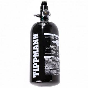 Tippmann 0.8L 200BAR Pullo + HP Reg