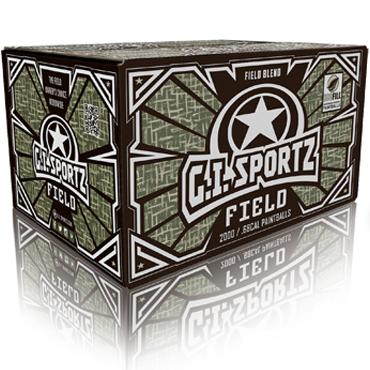 GI SPORTZ Field Paintballs 2000 kpl