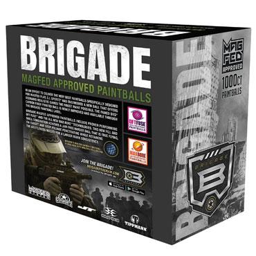 GI SPORTZ Brigade Paintballs - 1000 kpl